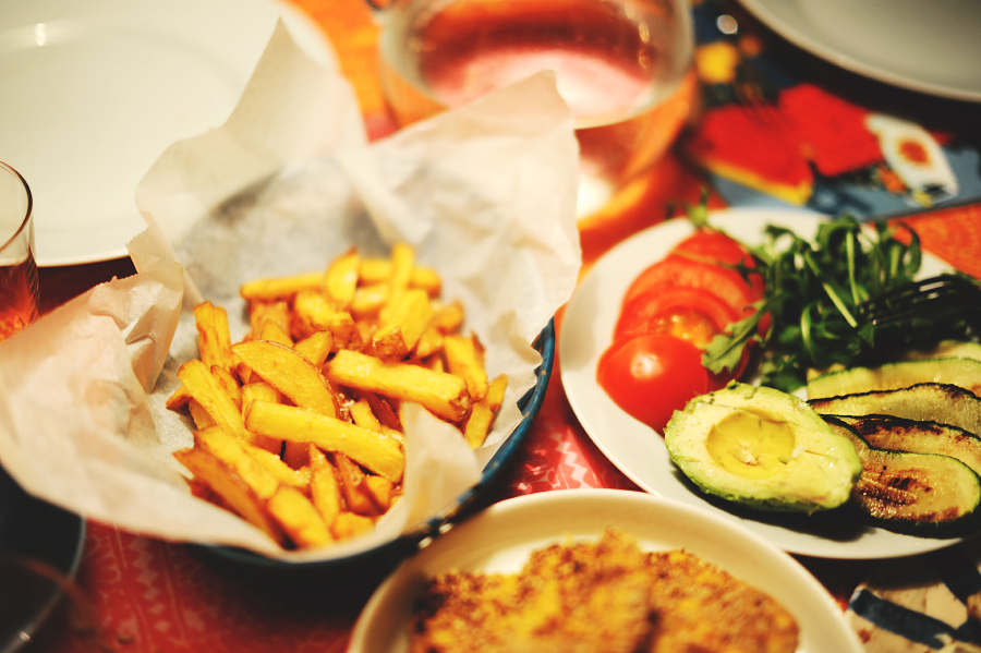 egna pommes frites utan fritös