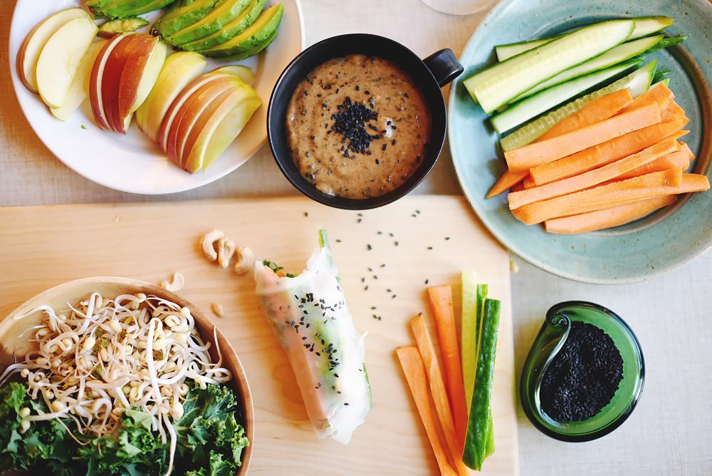vietnamesiska vårrullar vegetariska