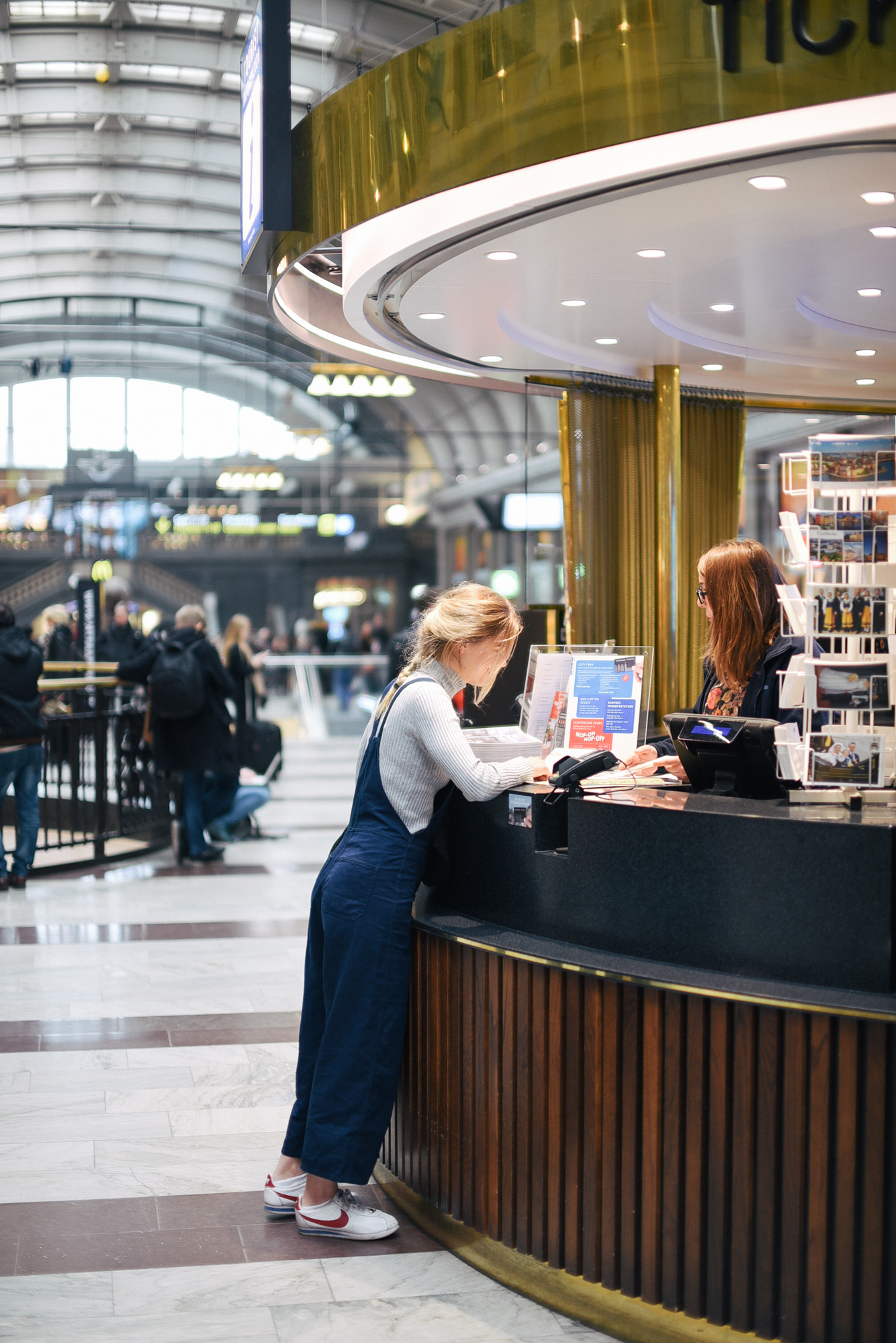 Ann Louise tågluff med Interrail Europa Runt